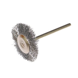 Steel wire wheel brush 22x2.35mm
