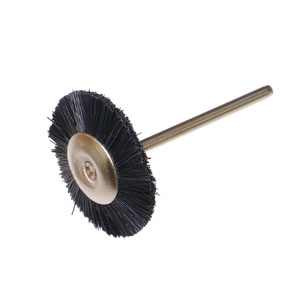 Nylon wheel black 22x2.35mm