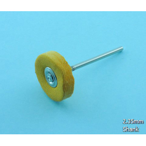 Cotton Yellow cloth wheel 22x2.35mm