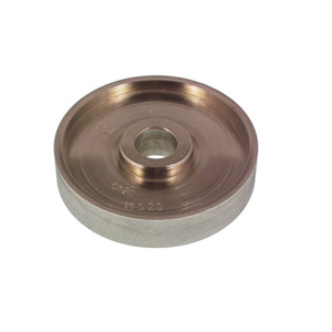 Diamond coated profile wheel plain - 125x25mm 320#