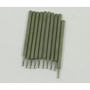 Diamond coated point nail head 10 pcs - 0.8x2.35mm