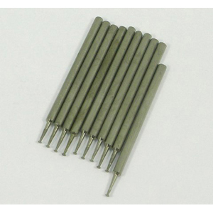 Diamond coated point nail head 10 pcs - 1x2.35mm