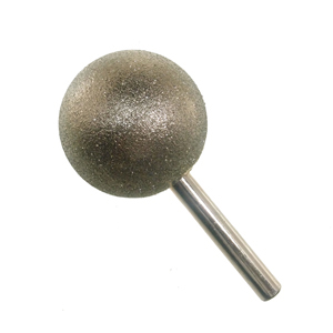 Diamond coated point sphere 40mm 60#
