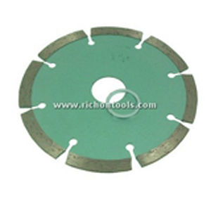 Diamond segment cutting balde 8 segments - 4""