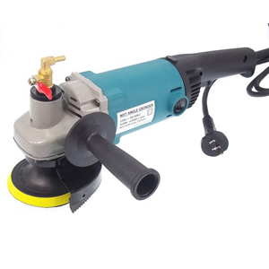 Stone wet angle grinder water feed 150mm 110V