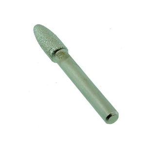 Diamond vacuum brazed point bullet 8mm