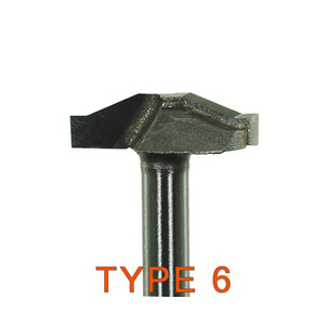"Woodworking lace TCT cutter Type 6 - 1/4""x25mm"