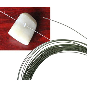 Diamond coated cutting wire 0.25mmx1m