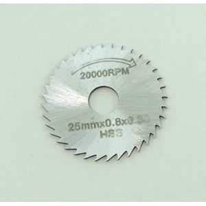 HSS slitting saw blade 25mm