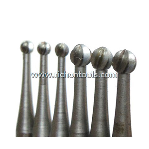 Precision carbide ball burr/drill bit 0.5mm