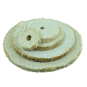 Sisal buffing wheel 8""