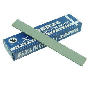 Precut GC oil stone stick 3x25x200mm 180#