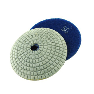 Diamond resin bonded concave polishing pad 4� 50# wet