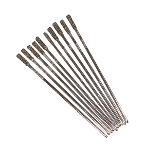 Diamond coated high speed drill bits 10 pcs - 1.3~1.4mm