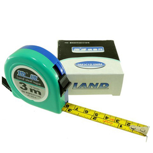 Steel measuring tape 3m